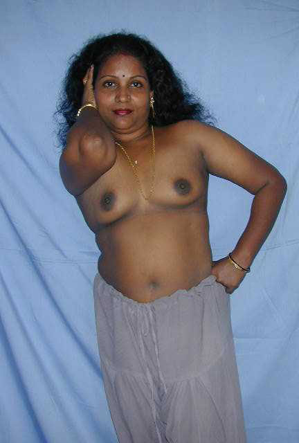nude short haired woman